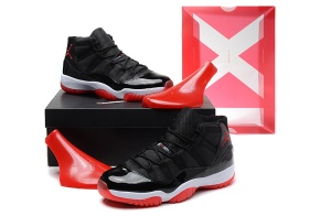 replica-air-jordan-11-retro-2012-release-black-varsity-red-white